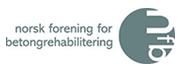 Logo for Norsk forening for betongrehabilitering
